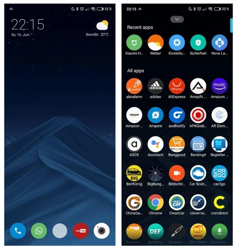 Xiaomi's Android phones are finally getting an app drawer - Liliputing