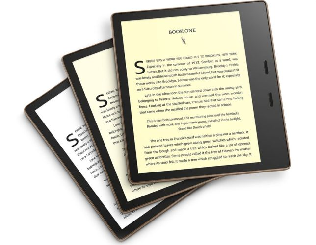 Amazon's new Kindle Oasis is its first with adjustable color