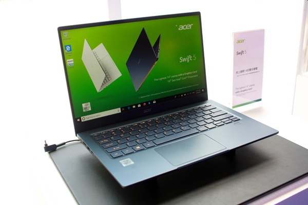 Acer Swift 5 laptop is getting an Ice Lake update (and more
