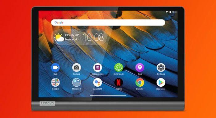 Lenovo Yoga Smart Tab Android tablet hangs around, acts like