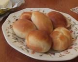 Easy brioche rolls