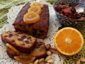 Orange and rum fruitcake-cake anglais