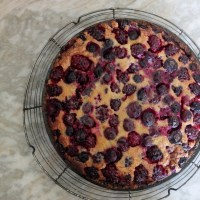 Black and blue berry nice summer tart recipe with a hint of mint!