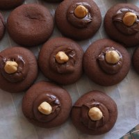 Nutellotti recipe with plain or white spelt flour - the fast and easy Nutella biscuits (cookies) that went viral in Italy!