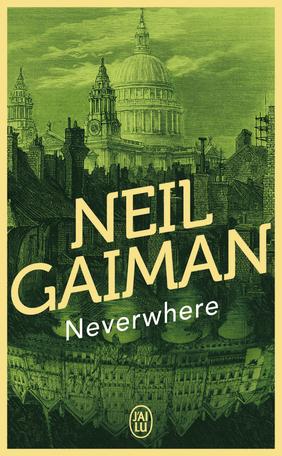 Couverture de Neverwhere de Neil Gaiman : Londres
