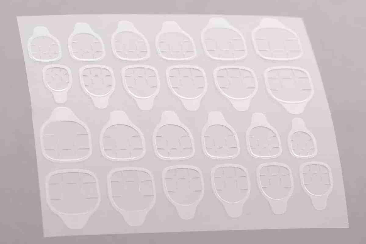 24 Adhesive Tabs for Press on Nails   Nail Glue Alternative   Nail Adhesive   Fake Nails   Nail Stickers   Stick on Nails   Fake Nails