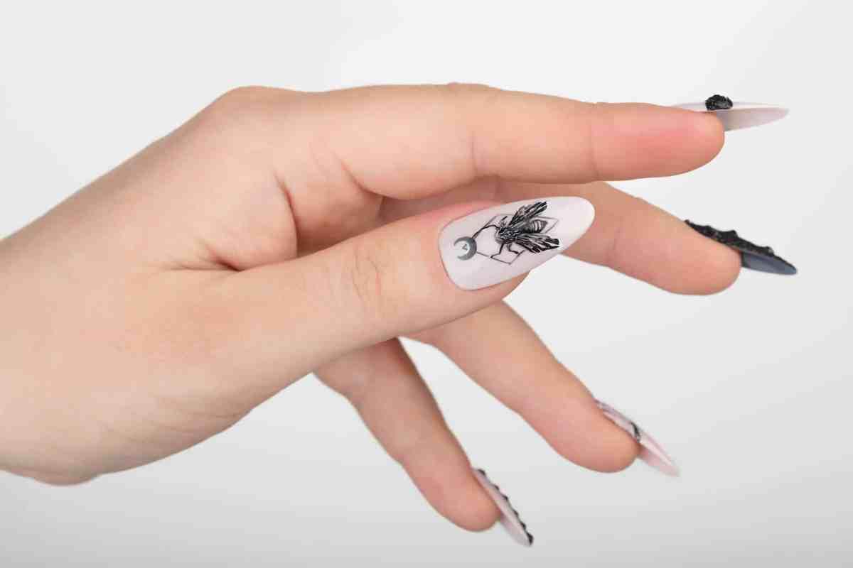 BarFly Press on Nails with Swarovski Crystals