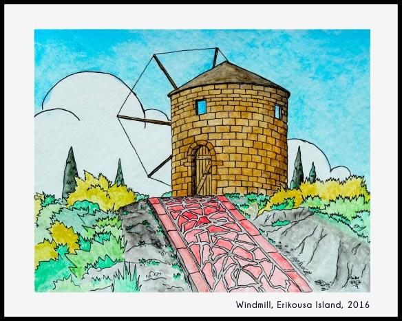 windmill-drawing