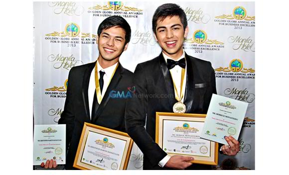 GOLDEN GLOBE ANNUAL AWARDS FOR BUSINESS EXCELLENCE artista