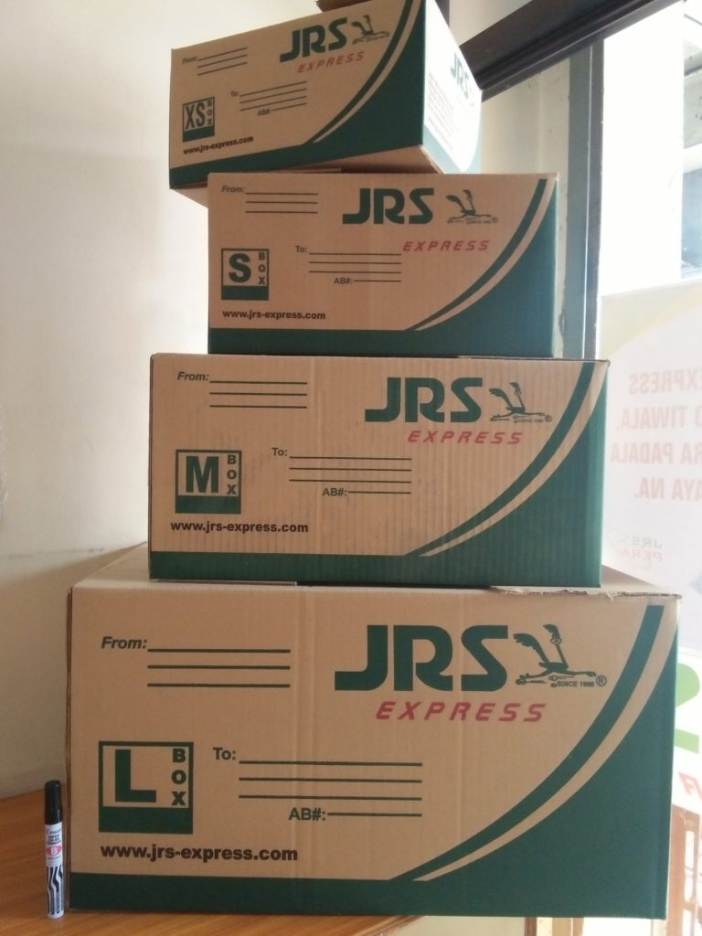 JRS Express Box Rates Sizes June 2017