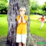 Детская игра «Прятки»