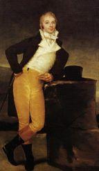 Portrait of the Marques de San Adrian 1804 by Francisco de Goya