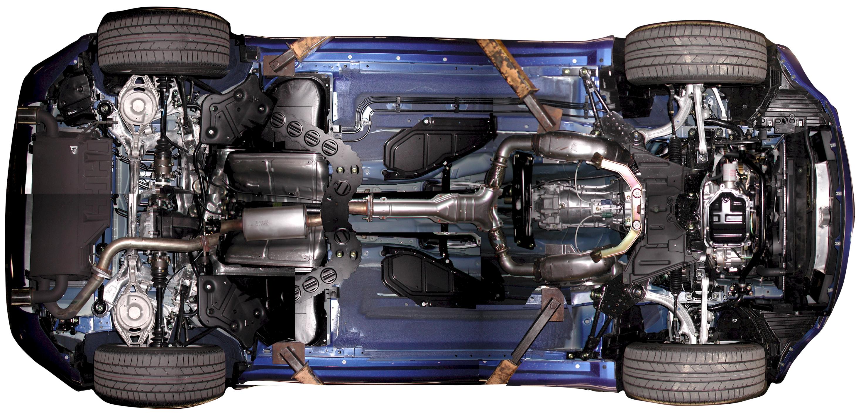 diagram of engine for nissan 350z