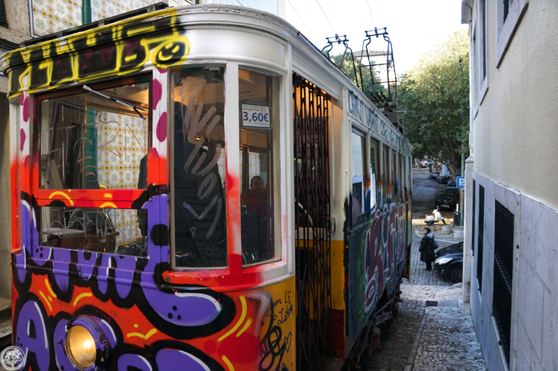 The famous Trams of Lisbon!