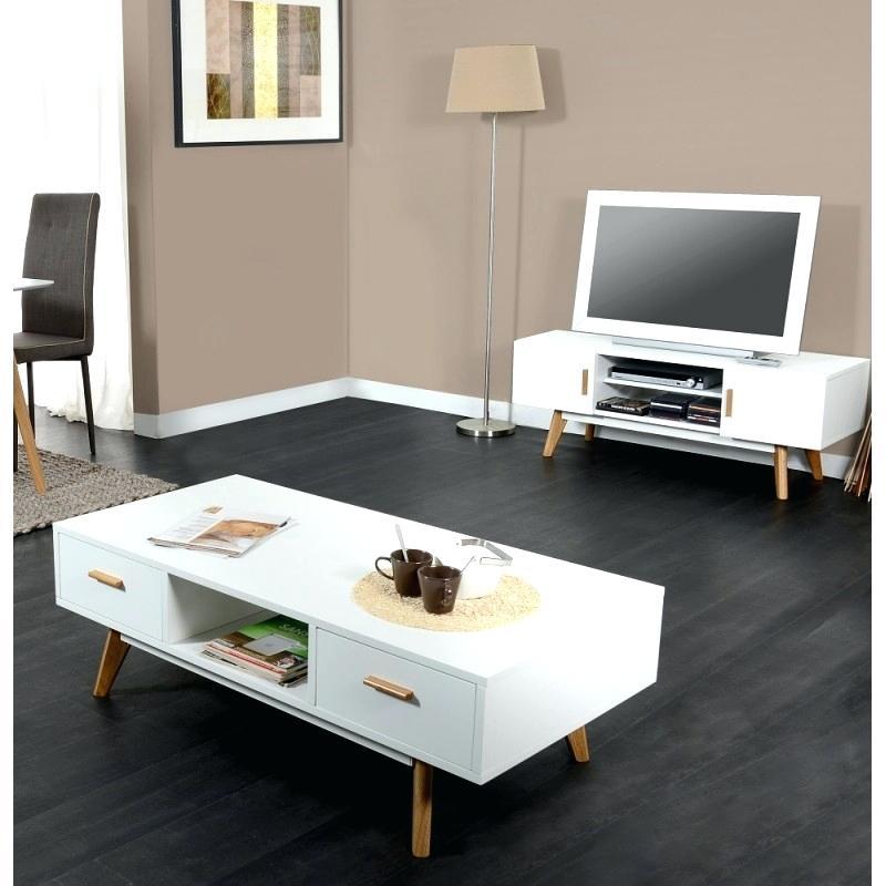 Meuble Tv Et Table Basse Scandinave