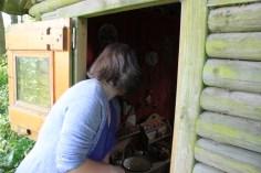 Le jardin des lianes - découverte de la cabane