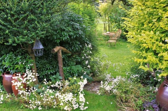 Le jardin de la goutte d'eau - salon de jardin