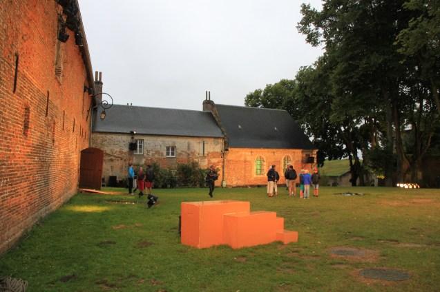 Les Misérables - scène chapelle