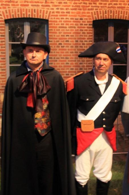 Les Misérables - soldat et Javert