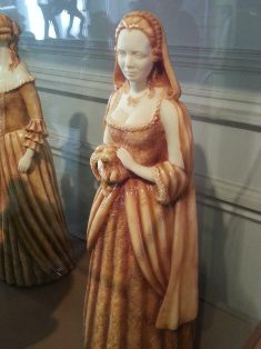 Choco-story - sculpture chocolat dame