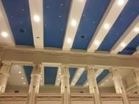 loge maçonnique - plafond temple