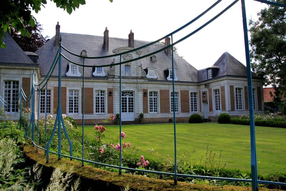 Maizicourt - château vue de côté