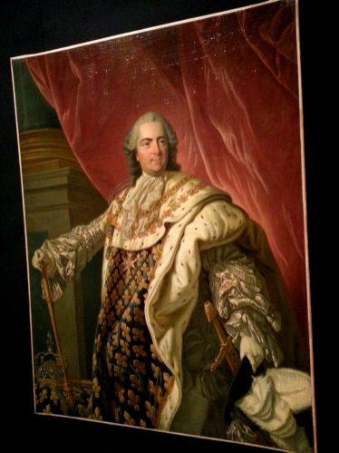 Sacrebleu - portrait mi-corps Louis XV