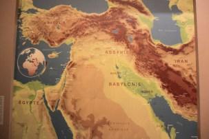 mesopotamie - carte
