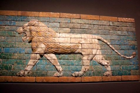 mesopotamie - lion briques