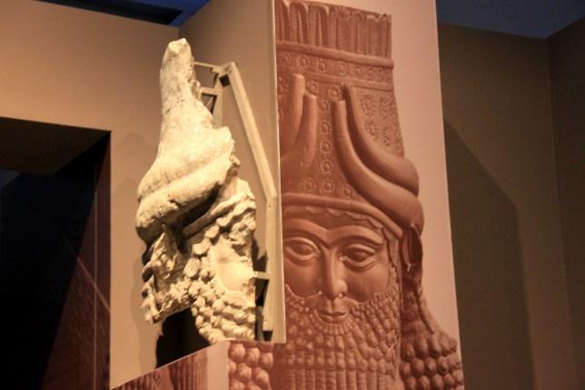mesopotamie - detail porte