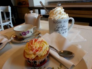 sugar kiss - chocolat viennois cupcake