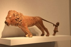 sophie verger - petite fille lion