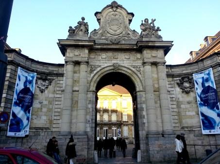 Arras - entrée musée des Beaux-Arts
