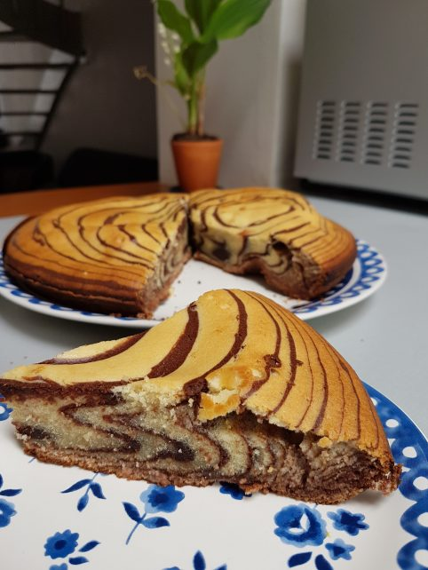 Zebra cake - recette Oxalis et Bergamote