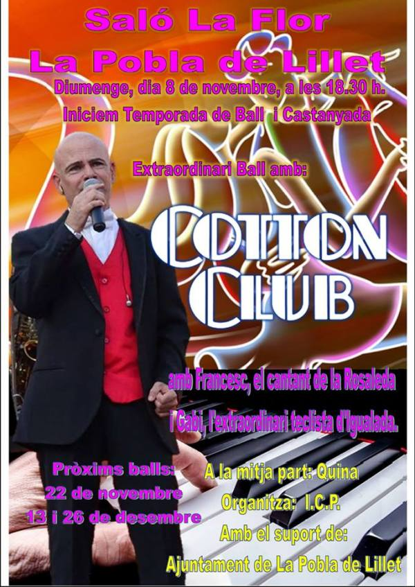 20151108_Ball i Castanyada - Cotton Club