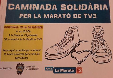 20151213 Caminada Solidaria - La Marato TV3