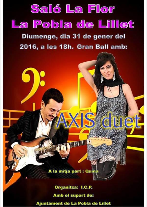 20160131 LaFlor AXIS duet