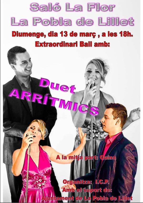 20160312 Salo La Flor - Duet ARRITMICS