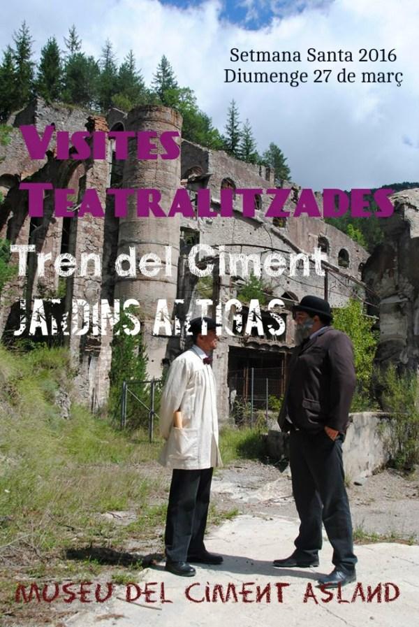 20160327 visites teatralitzades tren del ciment jardins artigas