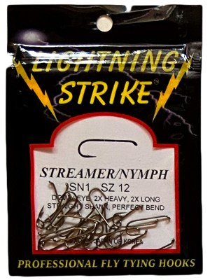 Lightning Strike – Streamer/Nymph SN1 25ct.