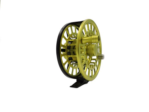 Rudder Fly Reel - Black and Green