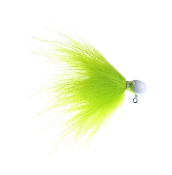 chartreuse marabou jig