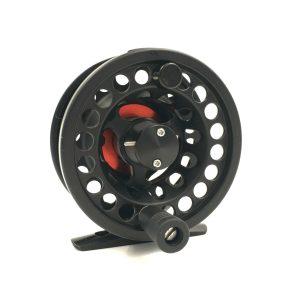 Rudder Fly Reel – Black & Red