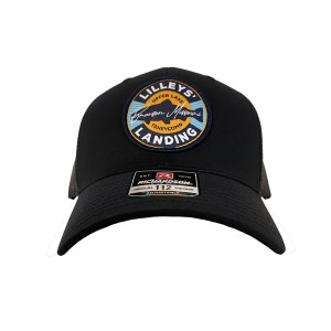 Circle Patch Hat – Black