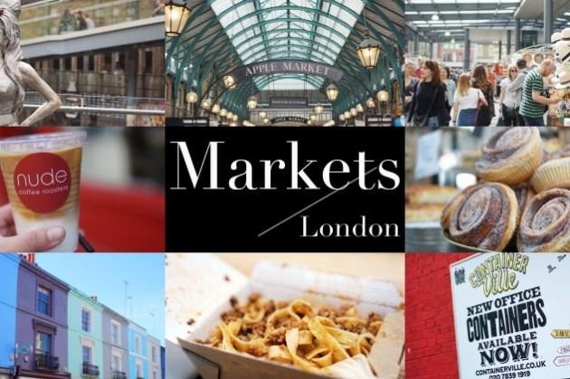 【2021英國倫敦市集攻略】8大市集交通、營業時間、美食注意事項總整理