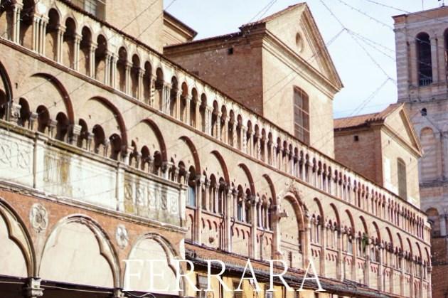 【義大利費拉拉Ferrara一日遊】交通、景點、歷史故事 那座城堡安靜地令人心疼。