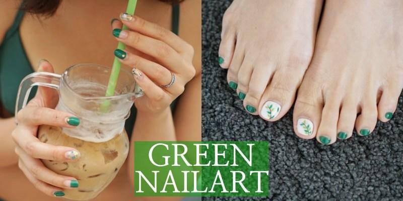 夏日系美甲 夏天就是有著海尼根綠的味道!N.P.S藝術美甲沙龍