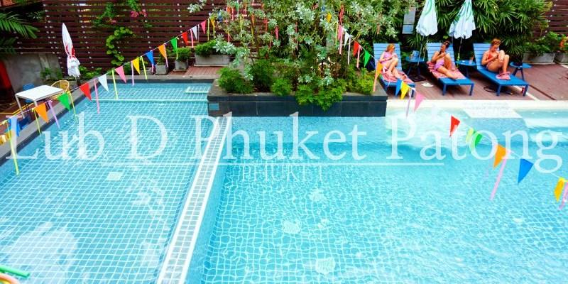 普吉島住宿推薦|巴東海灘Lub D台幣1千住超猛泳池飯店 也有青旅房喔!