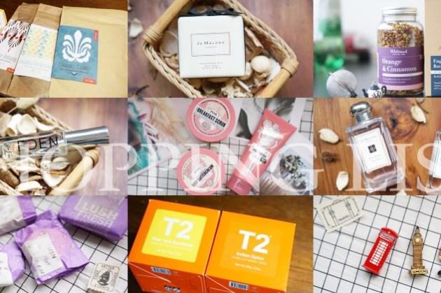 【英國自助購物清單】真心推薦紀念品!茶/Whittard/Jo Malone香水/Lush/包包