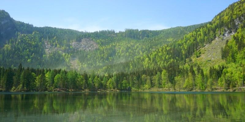 奧地利湖區Ödensee自駕自由行|在地人私藏景點,適合半日遊的綠色小湖
